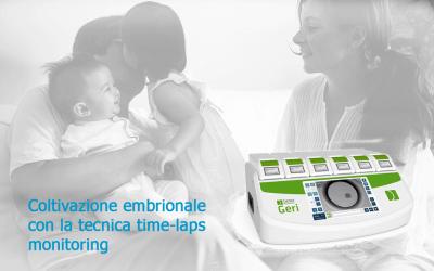 Utilizzando gli incubatori GERI, la percentuale di successo della coltivazione embrionale è aumentata del 28 %.