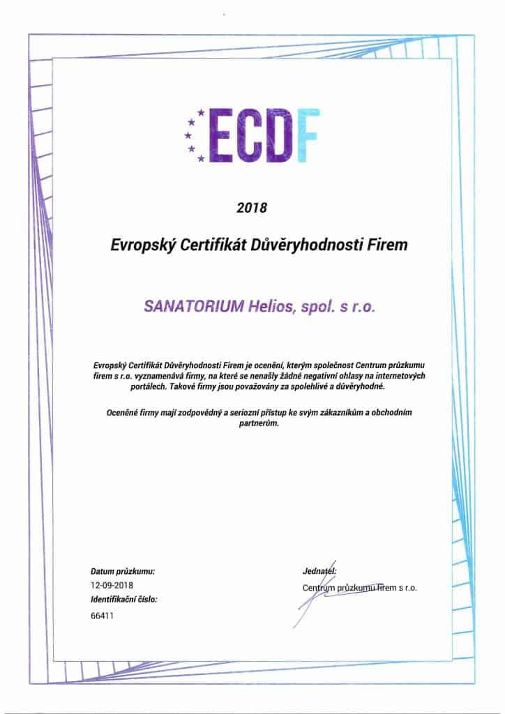 Certificato Europeo della Credibilità delle Aziende